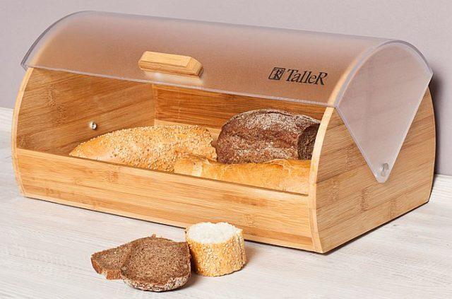 Какую хлебницу выбрать для правильного хранения хлеба на кухне