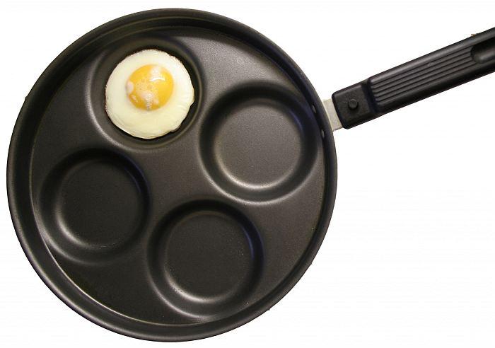 Как приготовить яичницу которая растекается