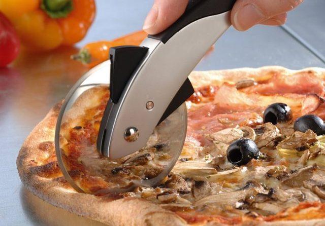 Резка пиццы