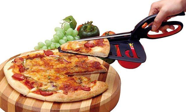 Кухонные ножницы с лопаткой