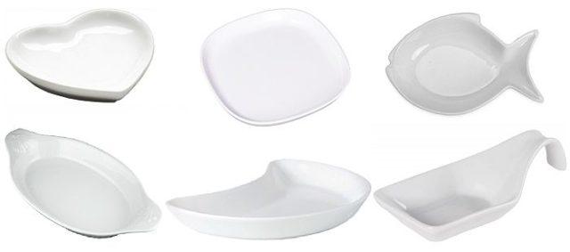 Тарелки особой формы