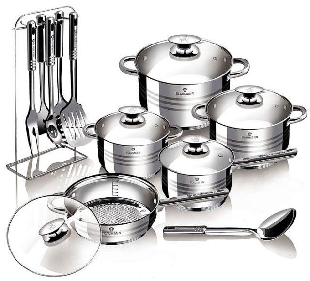 Комлект кухонной посуды для дома