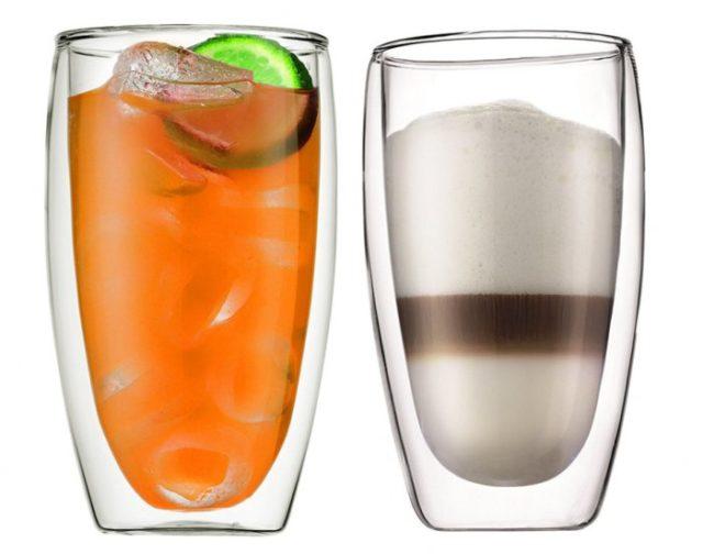 Как устроен стакан с двойным стеклом