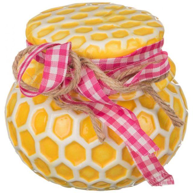 Медовая баночка из керамики