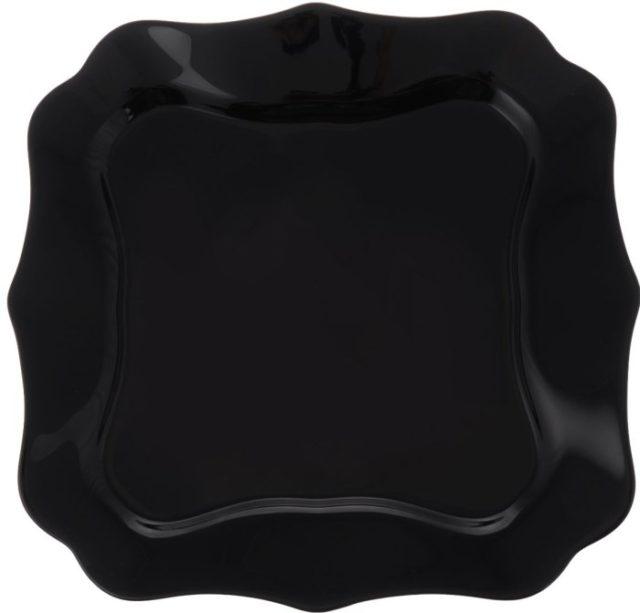 Тарелка Authentic noir Luminarc