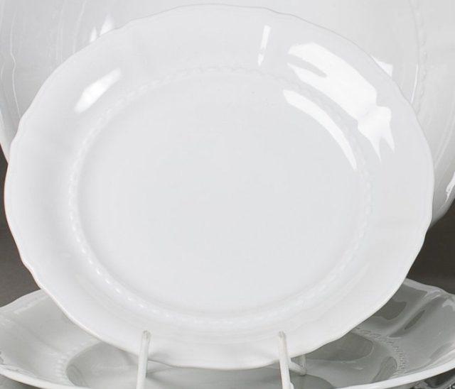 Набор из шести глубоких десертных тарелок