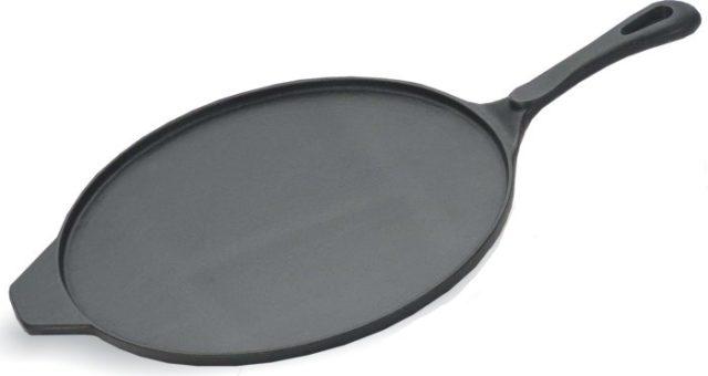 Чугунная сковорода для жарки блинов